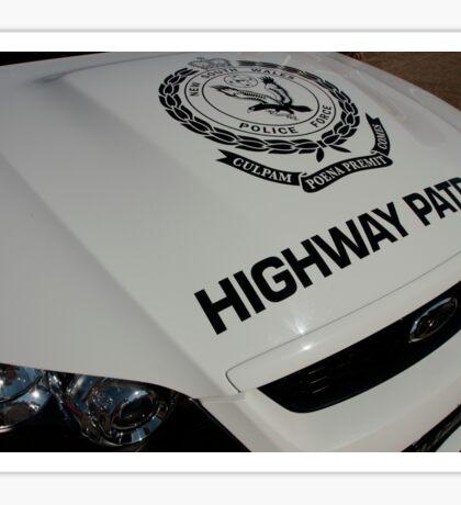 NSW HWP. Sticker