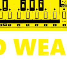 TB 303 Acid Weapon Sticker