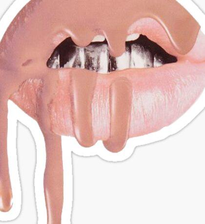 Pale Lip Sticker