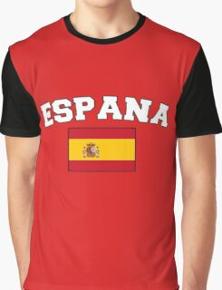 Espana Spain Supporters Graphic T-Shirt