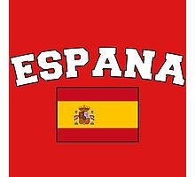 Espana Spain Supporters Photographic Print