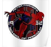 Spider Man - Peter Parker's School of Parkour Poster