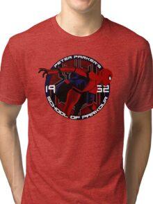Spider Man - Peter Parker's School of Parkour Tri-blend T-Shirt