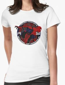 Spider Man - Peter Parker's School of Parkour Womens Fitted T-Shirt
