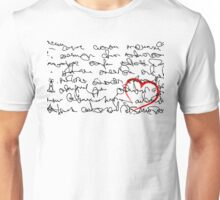 Love Message Unisex T-Shirt