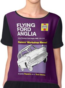 Haynes Manual - Flying Ford Anglia - T-shirt Chiffon Top