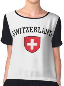 Switzerland Supporters Chiffon Top