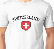 Switzerland Supporters Unisex T-Shirt