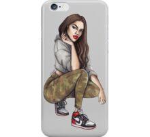 Camo Girl iPhone Case/Skin