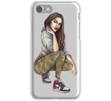 Camo Girl iPhone Case/Skin