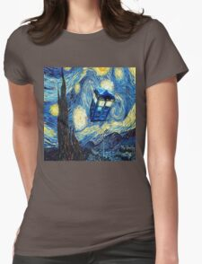 Van Gogh Womens Fitted T-Shirt