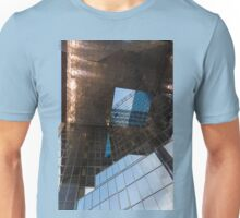 Copper, Glass and Steel Geometry - Fabulous Modern Architecture in London, UK Unisex T-Shirt