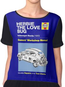 Haynes Manual - Herbie the Love Bug - T-shirt Chiffon Top