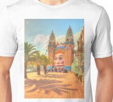 Luna Park with palms Unisex T-Shirt
