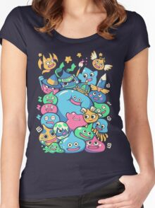 Slime Party!  Women's Fitted Scoop T-Shirt