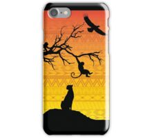 African Safari iPhone Case/Skin