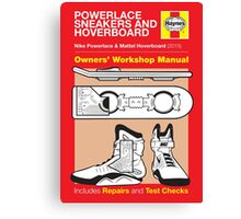 Haynes Manual - Hoverboard - Poster and stickers Canvas Print