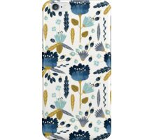 Watercolor Abstract Flowers iPhone Case/Skin