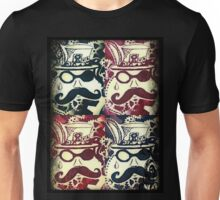 Steampunk Faces  Unisex T-Shirt