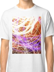 Psychedelic Neon Light Party Classic T-Shirt