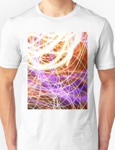 Psychedelic Neon Light Party Unisex T-Shirt