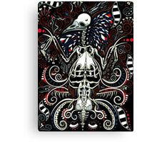 Beauty of the Macabre Canvas Print