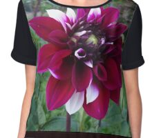Piebald Bloom Women's Chiffon Top