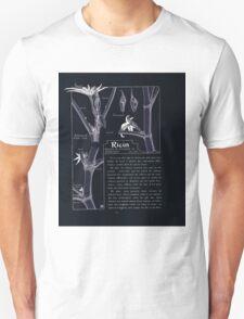 Etude de la Plante Maurice Pillard Verneuil 1903 110 Plant Study Botany Inverted T-Shirt