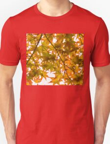 Under the Japanese Maple - Impressions Of Fall Unisex T-Shirt