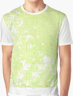 USGS TOPO Map Alabama AL Coffeeville 303545 1971 24000 Graphic T-Shirt