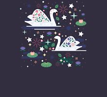 Swans on Stars  Unisex T-Shirt