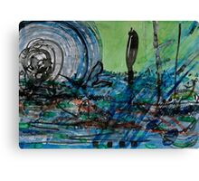 Whirling Hurricane Canvas Print