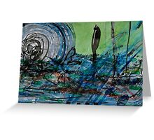 Whirling Hurricane Greeting Card
