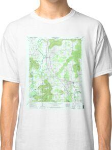 USGS TOPO Map Alabama AL New Hope 304667 1947 24000 Classic T-Shirt