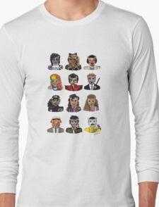 80s Cats Long Sleeve T-Shirt