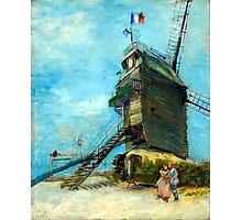 Vincent van Gogh Le Moulin de la Galette Photographic Print