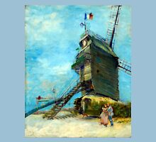 Vincent van Gogh Le Moulin de la Galette Unisex T-Shirt