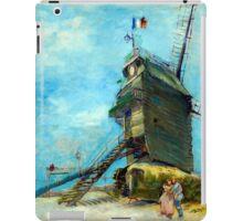 Vincent van Gogh Le Moulin de la Galette iPad Case/Skin