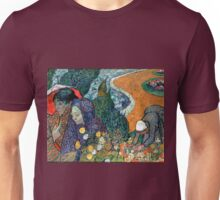 Vincent van Gogh Memory of the Garden at Etten Unisex T-Shirt