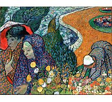 Vincent van Gogh Memory of the Garden at Etten Photographic Print