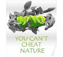 You can't cheat nature - snake Poster