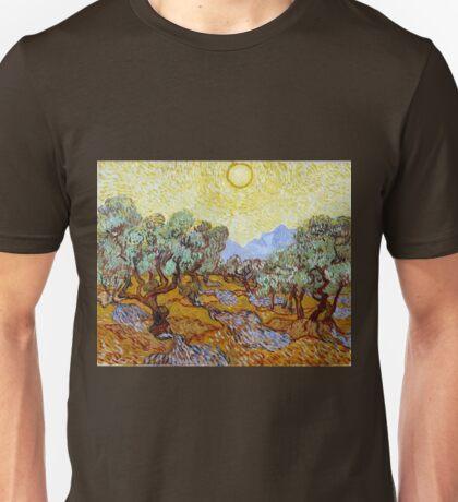 Vincent van Gogh Olive Trees Unisex T-Shirt