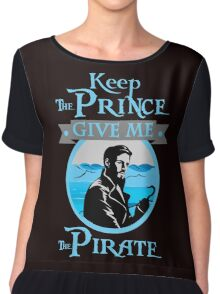 Captain Hook OUAT Shirt Chiffon Top