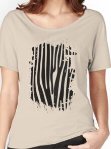 Quiet Zebra Women's Relaxed Fit T-Shirt