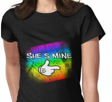 She´s mine Womens Fitted T-Shirt
