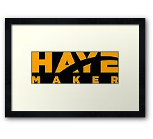 Haye Maker Framed Print