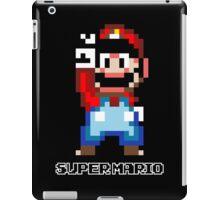 Super Mario 16 bit Victory Pose iPad Case/Skin