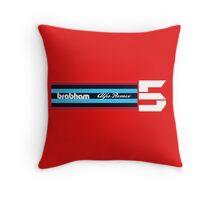 Brabham BT48 Alfa Romeo Lauda Racing Throw Pillow