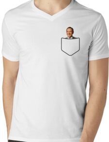 Kevin Spacey in your pocket Mens V-Neck T-Shirt
