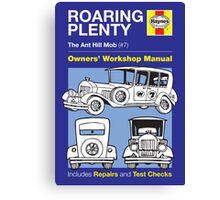 Haynes Manual - Roaring Plenty - Poster & stickers Canvas Print